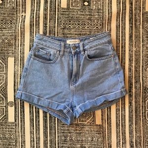 Pacsun high rise mom shorts